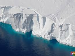 buzul şehri antartika